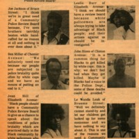 Listen to the People - Black New Ark Newspaper